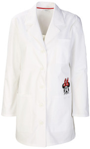 "(TF400-WHTW) Cherokee Tooniforms Scrubs - TF400 32"" Lab Coat - White (WHTW)"