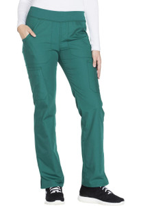 (WW210T) Cherokee Workwear Scrubs Originals - Mid Rise Straight Leg Pull-on Cargo Pant (Tall)