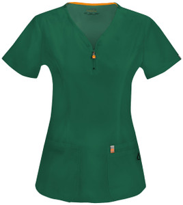 (46600A) Code Happy Bliss Scrubs - 46600A V-Neck Top