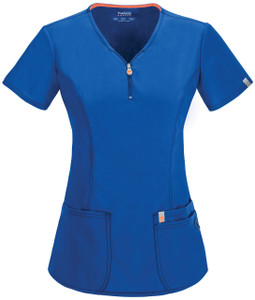 (46600AB) Code Happy Bliss Scrubs - 46600AB V-Neck Top