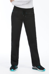 (8715T) Med Couture Signature Scrubs - Flex-It Yoga Scrub Pant (Tall)