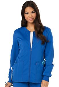 (CH312A) Code Happy Cloud Nine Scrubs - CH312A Zip Front Warm-Up Jacket
