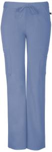 "(SA100AP) Sapphire Scrubs - ""Vienna"" Mid Rise Straight Leg Pant (Petite)"