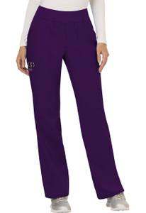 (WW110T) Cherokee Workwear Revolution Scrubs - WW110 Mid Rise Straight Leg Pull-on Pant (Tall)