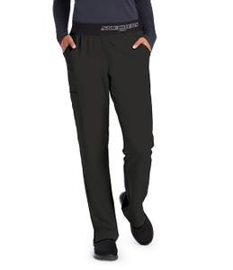 (SK202P) Skechers Scrubs - Vitality 3 Pocket Logo Waist Scrub Pant (Petite)