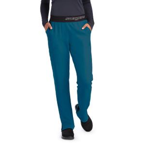 (SK202T) Skechers Scrubs - Vitality 3 Pocket Logo Waist Scrub Pant Tall)