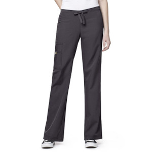 (5414) WonderWink Four-Stretch Women's Cargo Drawstring Pant