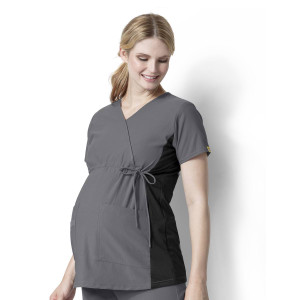 (6445) WonderWink Maternity Women's Maternity Stretch Top