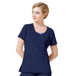 (6614) WonderWink Four-Stretch Women's Curve-Centric Fashion Top