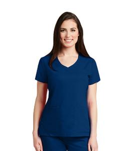 (41460) Grey's Anatomy 4 Pocket V-Neck Scrub Top