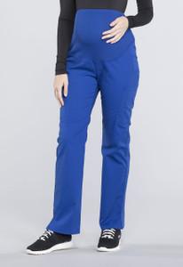 (WW220P) Cherokee Workwear Professionals Maternity  Straight Leg Pant (Petite)