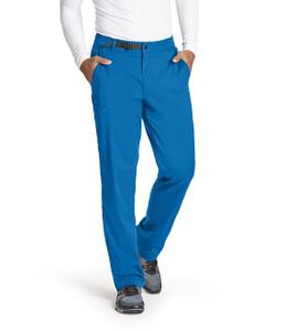 (GRSP507S) Grey's Anatomy Spandex Stretch Men's 4 Pocket Belted Waist Cargo Pant (Short)
