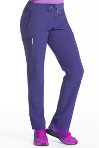 (8780T) Med Couture Air Oxygen Yoga Waist Scrub Pants (Tall)