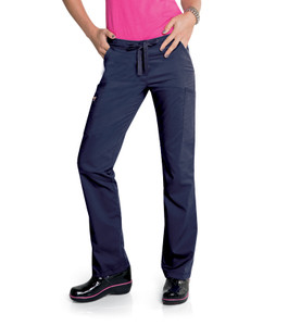 (S207003) Smitten Blush Limelight Convertible Jogger Scrub Pant