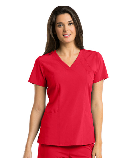 (5105) - Barco One Scrubs - V-Neck Perforated Detail Performance
