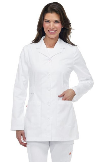 (G3400) Koi Hampton Lab Coat