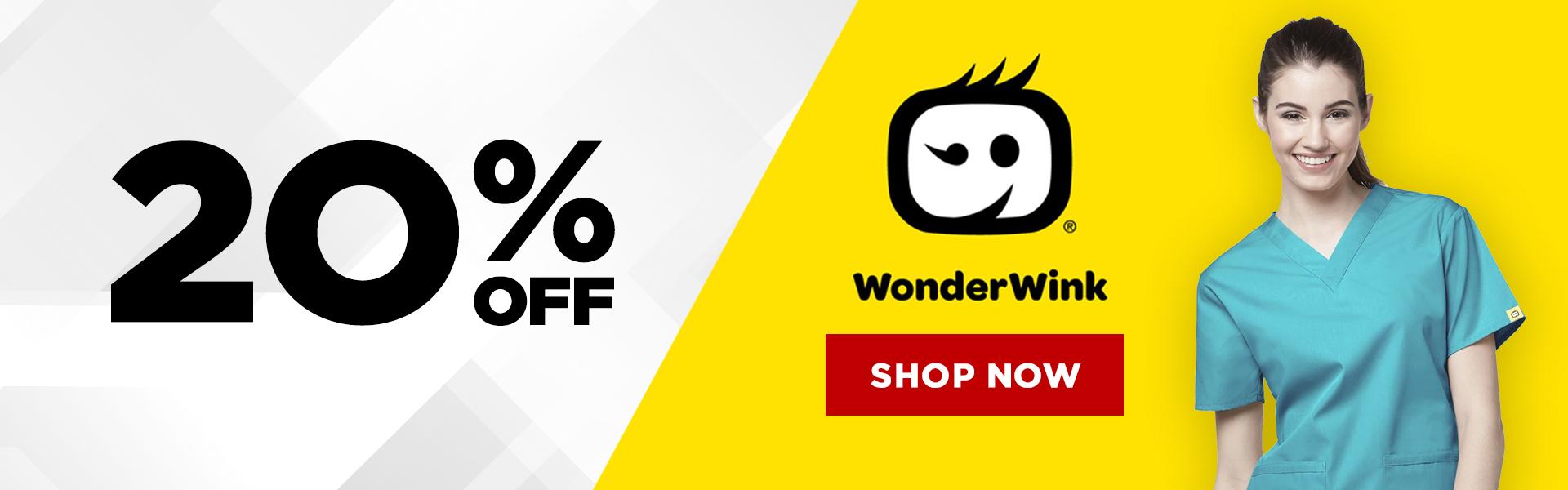 20% Off WonderWink Shop Now