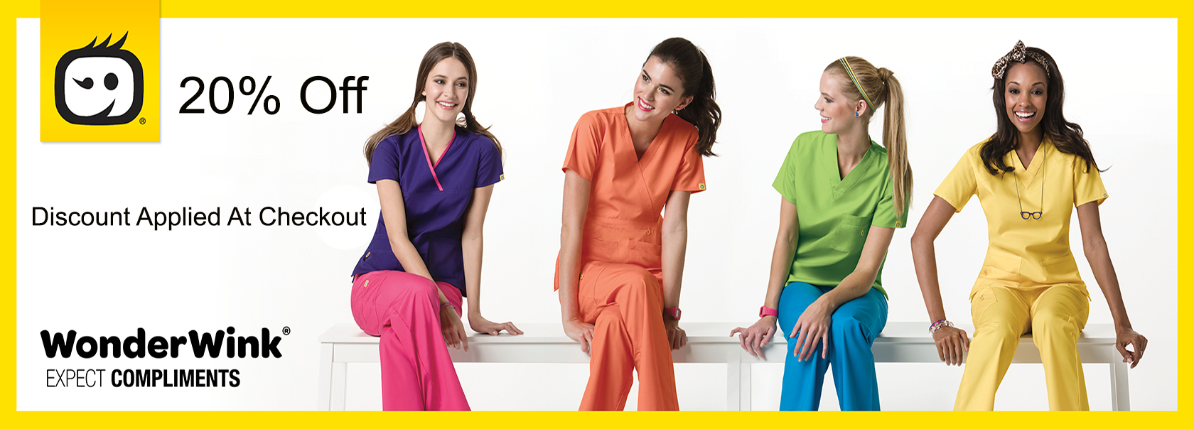 20% Off WonderWink Scrubs & Medical Uniforms