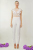 Giselle Wedding Jumpsuit (Front)