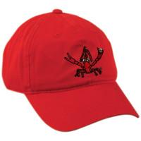 Crawfish Dad Hat (red)