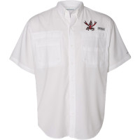 Crawfish Columbia Shirt (white)