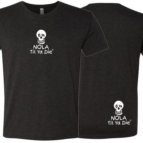 NOLA Til Ya Die Logo Unisex Tee (black)