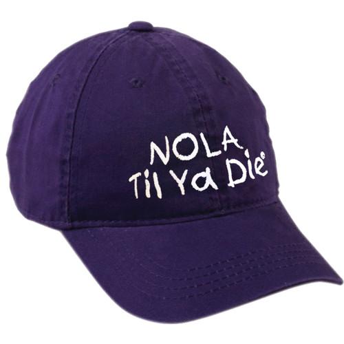 NOLA Til Ya Die Dad Hat (purple)