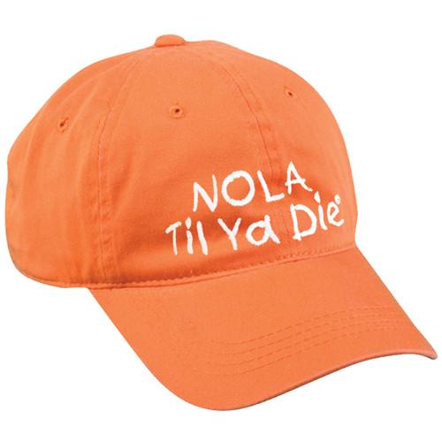 NOLA Til Ya Die Dad Hat (orange)