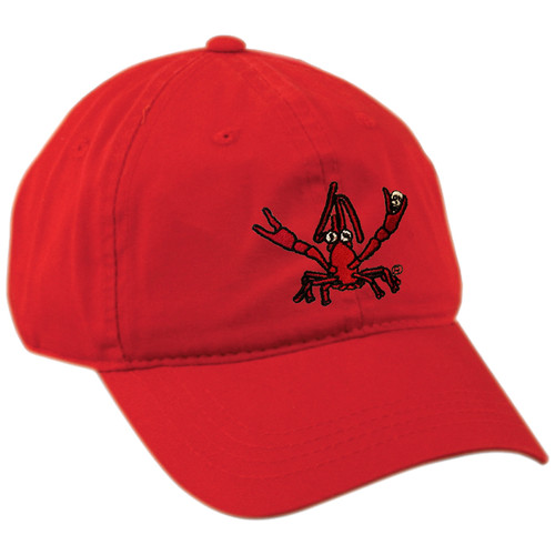 Crawfish Dad Hat (red)