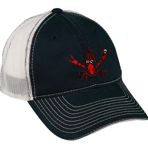 Crawfish Mesh Back Hat (navy/white)