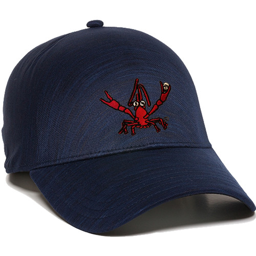 Crawfish Cool-Dry Performance Hat (navy)