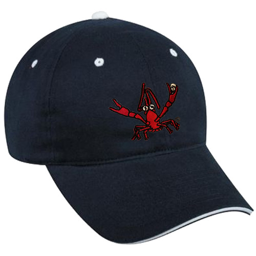 Crawfish Dad Hat (navy/white)