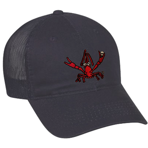 Crawfish Mesh Back Hat (navy)
