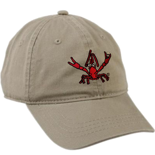 Crawfish Dad Hat (khaki)