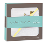 aden + anais - Jungle Jam Hooded Towel and Washcloth Set