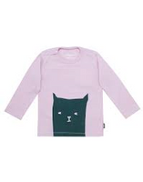 Imps & Elfs Long Sleeve Cat T-Shirt, Lilac