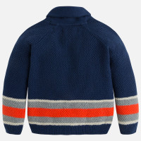 Mayoral Boys Striped Jumper, Blue