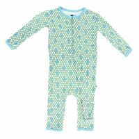Kickee Pants Print Fitted Coverall, Python