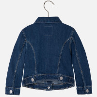 Mayoral Baby girl denim jacket, Dark
