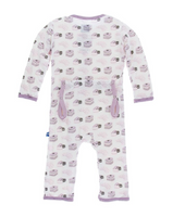 Kickee Pants Print Coverall with Snaps - Natural Sweet Treats