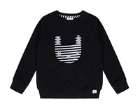 Turtledove London Organic Mask Applique Sweatshirt