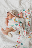 Clementine Kids Unicorn Land Swaddle