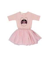 Huxbaby Organic Cotton Flower Frenchie Ballet Dress