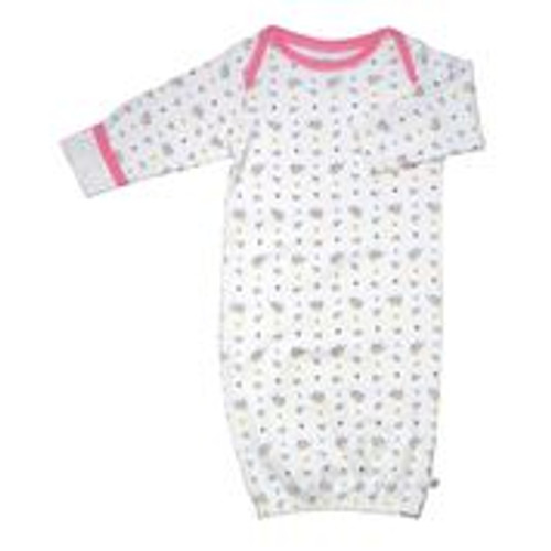 Babysoy - Organic Cotton Bundler with Reversible Cuffs, Bird