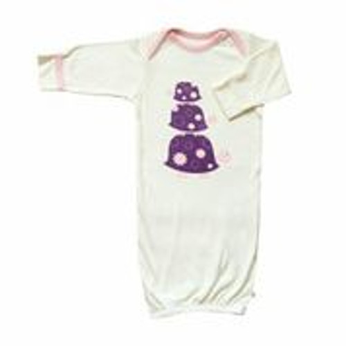 Babysoy Organic Cotton Blend O Soy Bundler - Turtle/Petal
