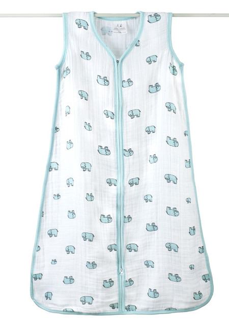 aden + anais - Elephant Classic Cotton Muslin Sleeping Bag