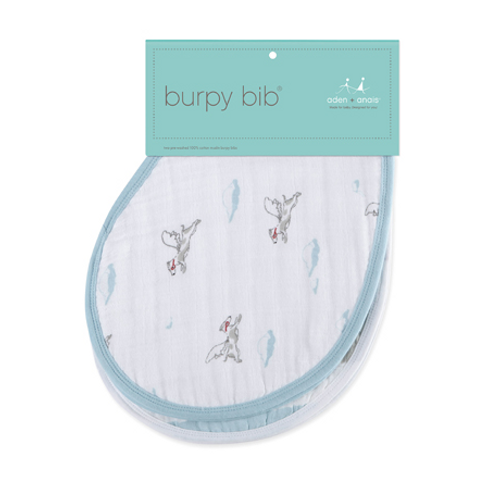 aden+anais Cotton Muslin Burpy Bibs, Liam The Brave
