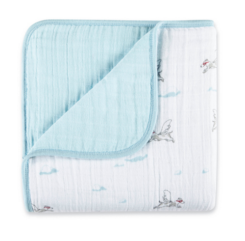 aden+anais Classic Cotton Dream Blanket, Liam The Brave