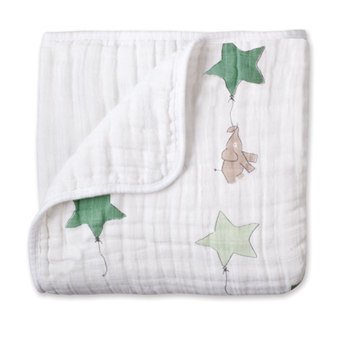 aden+anais Classic Cotton Dream Blanket, Up Up and Away