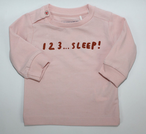 Imps & Elfs Long Sleeve 123... T-Shirt, Baby Pink